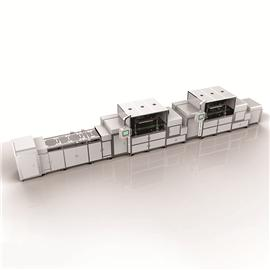 模块式双循环智能丝印线|智能丝印流水线|EID-SYX5545