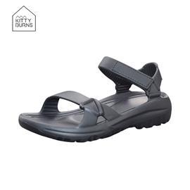 KB-1906 夏季新款时尚中童沙滩凉鞋|伊仕特鞋业