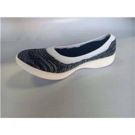 高弹力轻量3D纺织女士休闲鞋