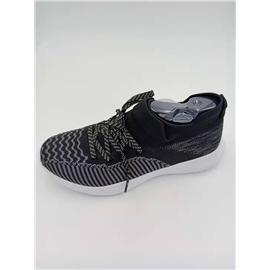 L004-2 高弹力轻量3D纺织男士休闲鞋