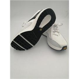 HPW01,荧光白/灰3D纺织精品跑鞋