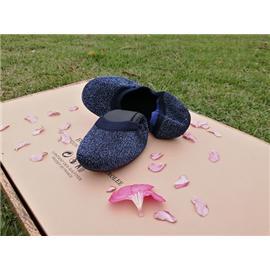 女式3D飞织跳舞专用鞋