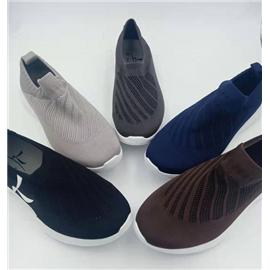 L004-4 高弹力轻量3D纺织男士休闲鞋
