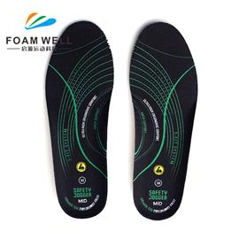 High Quality Breathable Pain Relief Comfortable Custom Molded EVA Foam Relax Insole