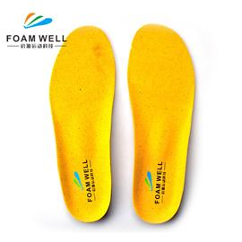 2020 Newest Full Length Shock Absorption PU Foam Cork Flat Foot Orthopedic Shoe Insoles