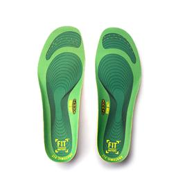 Gel Shoe Insole Sock for Flat Foot with Low Arch Support in Work Boot
