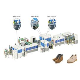 YH - Intelligent shaping production line for valgus shoes