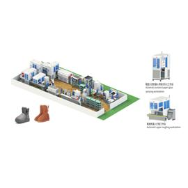 YH intelligent forming production line for high snow boots