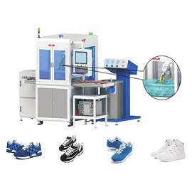 YH sole robot powder spraying workstation