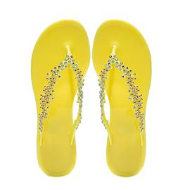 PT1018|黄色|女士拖鞋|宇舟贸易