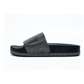 女士拖鞋|黑色|宇舟贸易