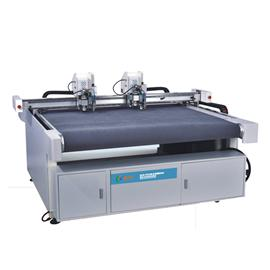 Vibrating knife automatic feeding intelligent cutting machine | clk-1612s-ii single beam