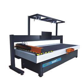 Computer leather cutting machine clk-ic400