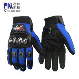 批发零售 户外运动不锈钢保护手套 越野赛车手套 耐摔防滑手套