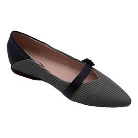 戴斯威袋鼠软鞋|408032黑绿色飞织跟鞋