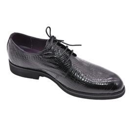 戴斯威袋鼠男鞋|977029时尚鳄鱼纹商务西装鞋