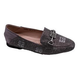 戴斯威袋鼠软鞋|408200灰色乐福鞋