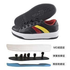 BZK007|贝足卡按摩鞋脚底养身穴位保健鞋足底足疗鞋运动鞋弹性舒适不累脚