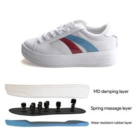Bzk007| beizuka massage shoes, sole health care, acupoints, sole, foot therapy shoes, sports shoes