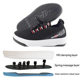 Bzk012|beizuka massage shoes sole health care point health care shoes sole foot therapy shoes