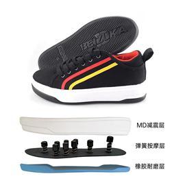 BZK008|贝足卡按摩鞋脚底养身穴位保健鞋足底足疗鞋运动鞋弹性舒适不累脚帆布鞋透气