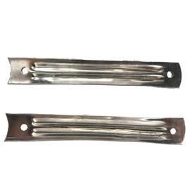 鞋类钢勾心及L型套产品|1型开孔勾心:用鸡眼钉,用于定型中底或大底|拓丰五金