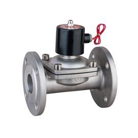 二位二通法兰连接(常闭型)电磁阀2W系列