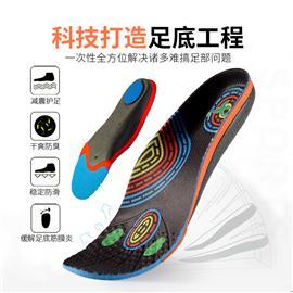 2020年足底筋膜炎鞋垫脚后跟减震柔软鞋垫