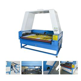 Xk-gr two axis automatic feeding photographic projection laser cutting machine