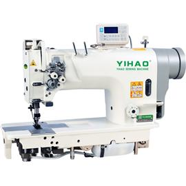 YH-8422/8452/8722/8752直驱式双针电脑平缝机 |亿豪缝纫